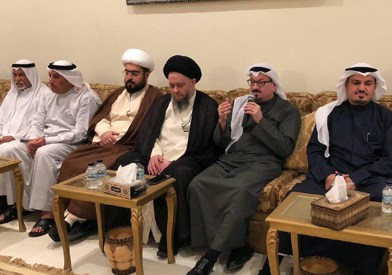Photo of Sayyed Hussein Shirazi travels on a mission to Kuwait