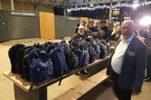 Photo of Mosque rallies help for homeless