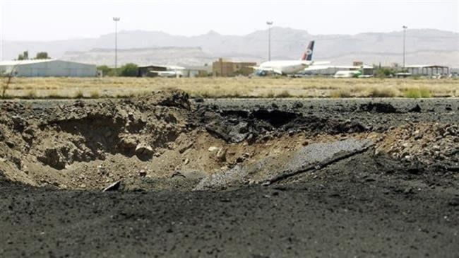 Photo of Saudi fighter jets attack international airport, airbase in i capital city