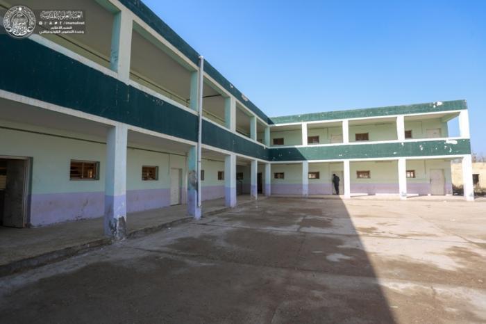 Photo of Imam Ali Holy Shrine supervises renovations of schools in Najaf