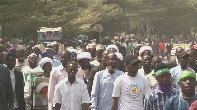 Photo of Shia community in Nigeria rally to condemn Zaria massacre
