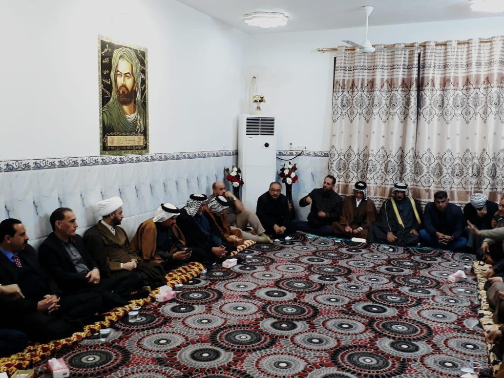 Photo of Director of Imam Sadiq Center meets tribal figures of Shula City in Iraq
