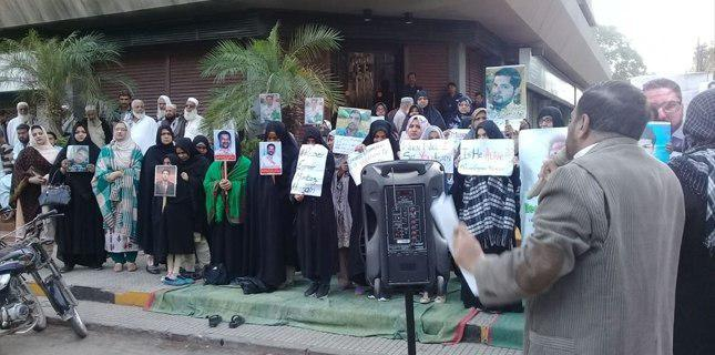 Photo of Families hunger strike for missing Shia Muslims at Karachi Press Club