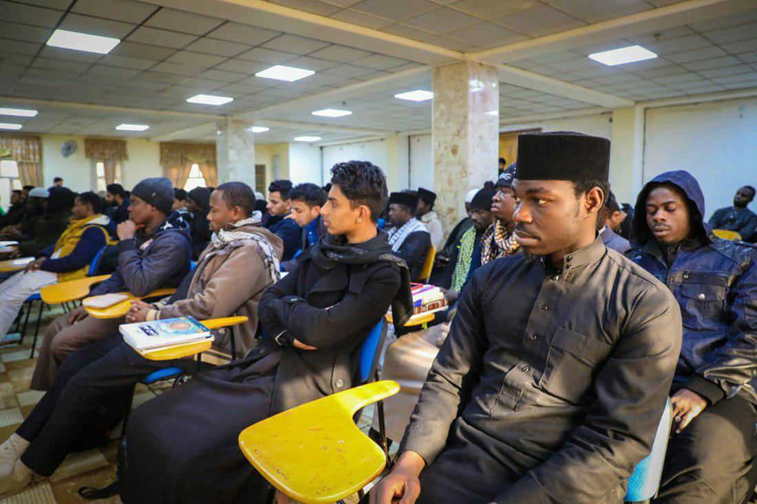 Photo of More than 100 Quranic students from 22 countries arrive in Karbala