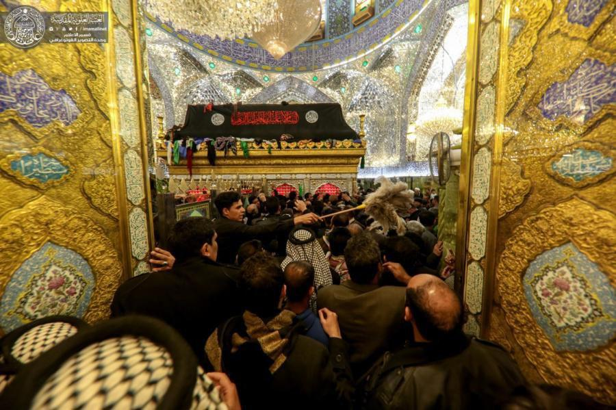 Photo of Mournful atmospheres at Imam Ali Holy Shrine for martyrdom anniversary of Lady Fatima