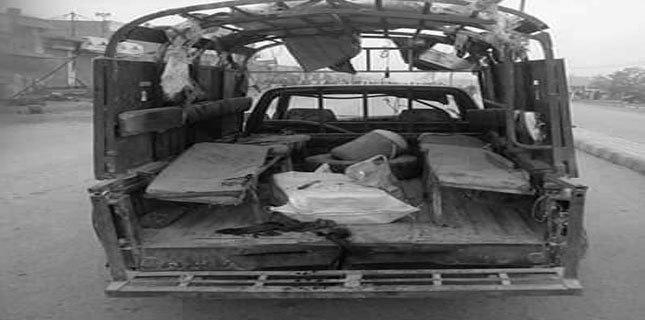 Photo of Terrorists kill 4 policemen in an ambush in Dera Ismail Khan, Pakistan