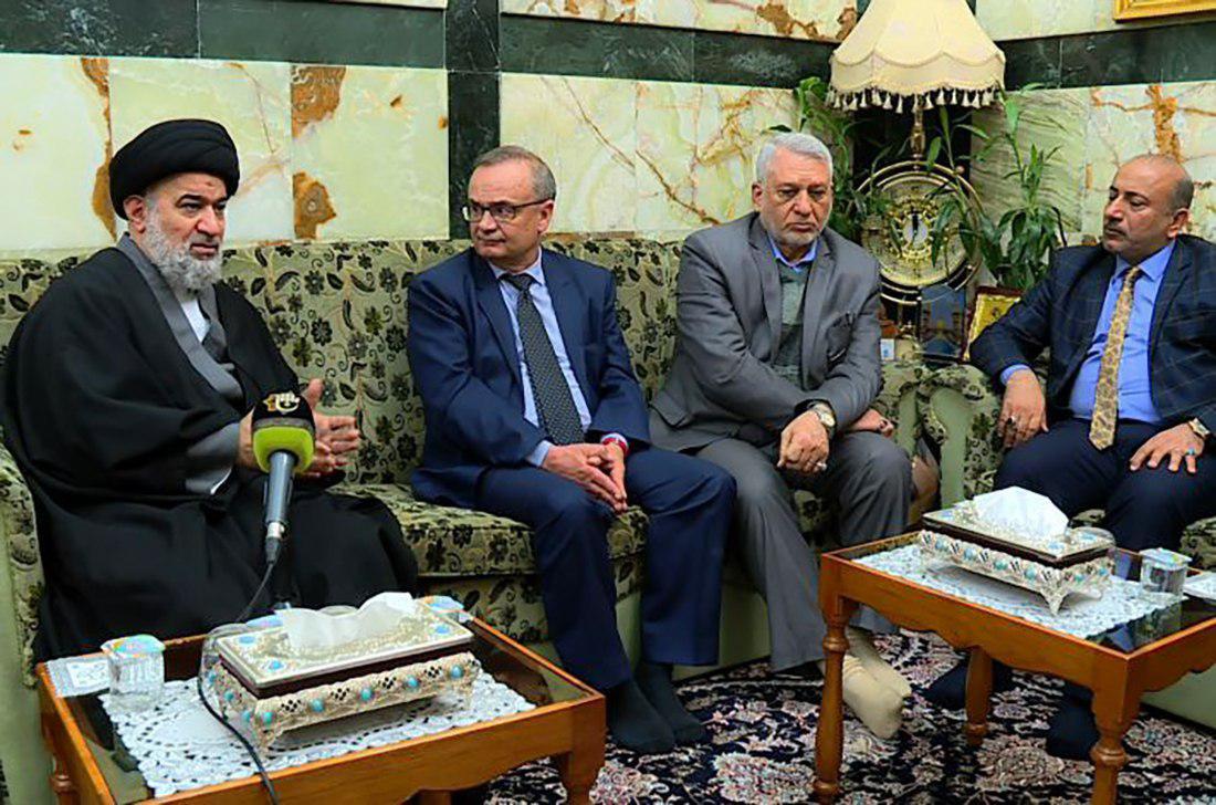 Photo of Spanish Ambassador visits holy Karbala