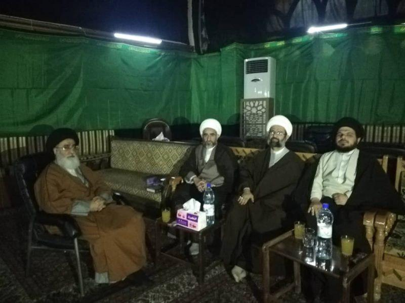 Photo of Activities by representative of Grand Ayatollah Shirazi in Syria