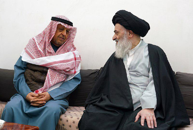 Photo of Member of Kuwait's Shia Endowment Office Meets Grand Ayatollah Shirazi