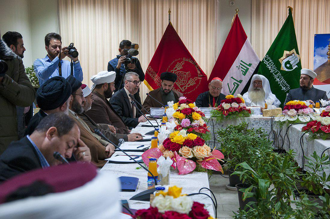 Photo of Clerics of different religions meet in Kerbela and send message to three presidencies