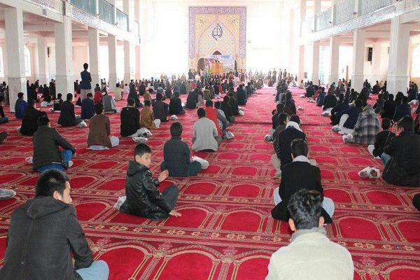 Photo of Quranic book reading competition held in Afghanistan