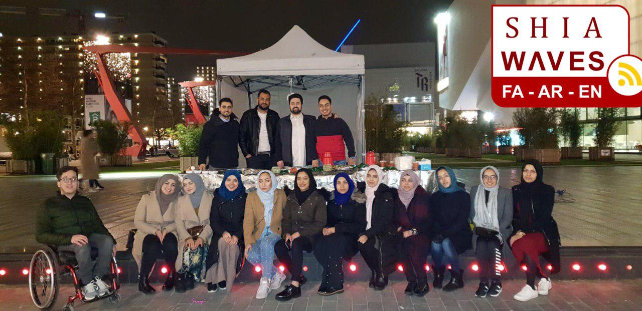 Photo of A group of Shia youth hold an activity to introduce Lady Fatima to nun-Muslims on Women's Day