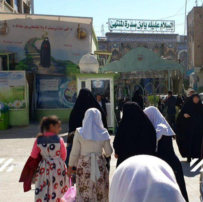 Photo of 14th round of orphans' smile project underway in holy Karbala