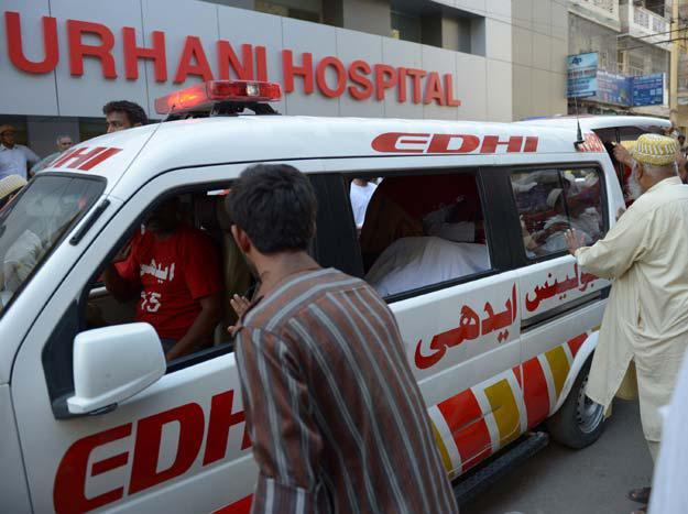 Photo of Shia youth martyred in terrorist attack in Karachi, Pakistan