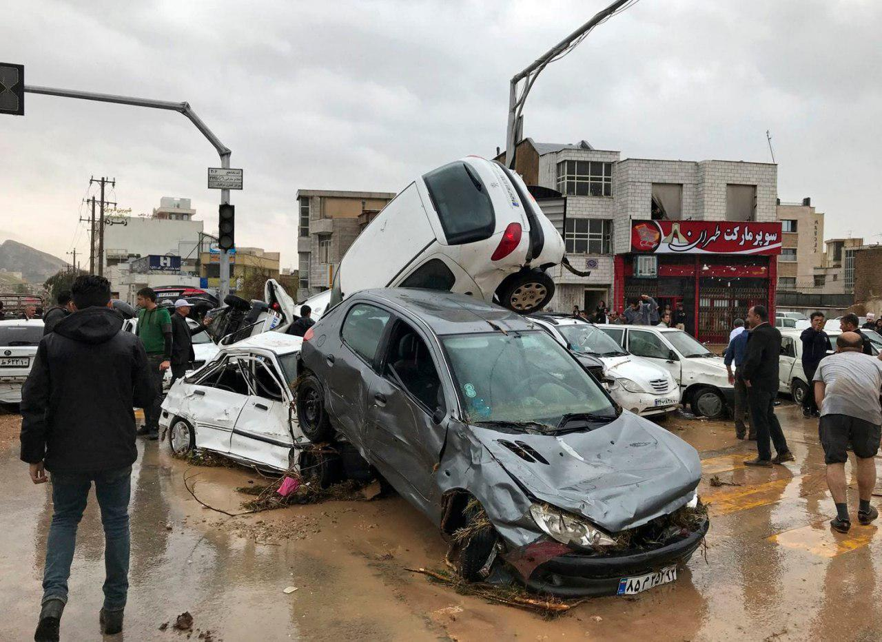 Photo of Flash floods in southern Iran kill at least 23, injure 100