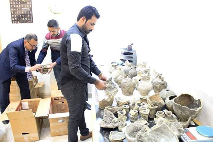 Photo of Relics found at construction site near Imam Hussein Holy Shrine
