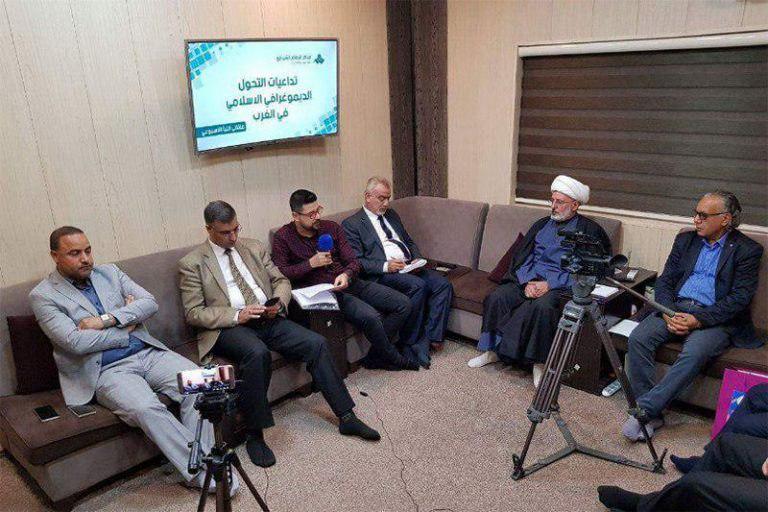 Photo of Imam Shirazi Center studies growth of Muslims population