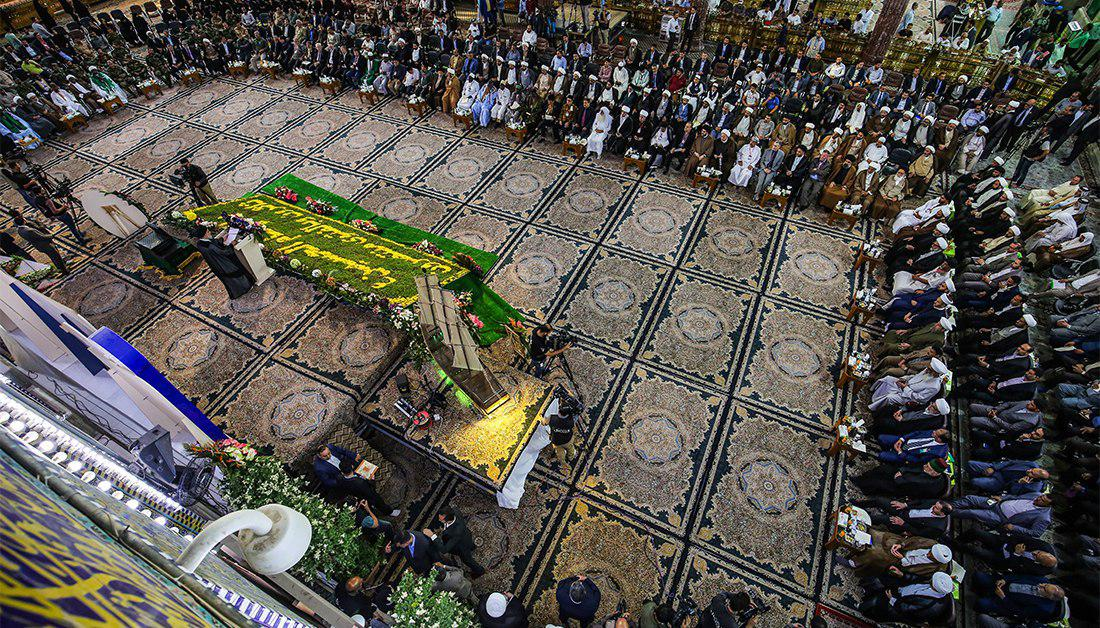 Photo of Delegations from all over the world celebrate birth anniversary of Imam Hussein