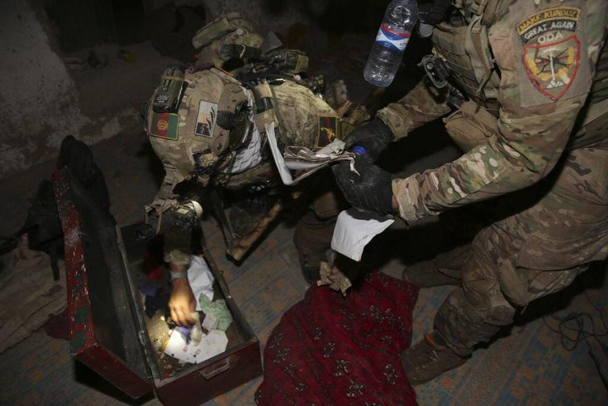 Photo of Afghan Special Forces destroy Taliban prison, arms and explosives depots in Kunduz