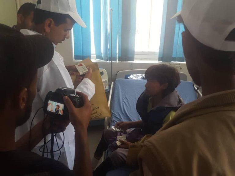 Photo of Sayed Shuhada committee pays for kidney medications of Yemeni people