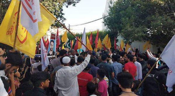 Photo of Asgharia Students Organization supports sit-in by families of Shia missing persons