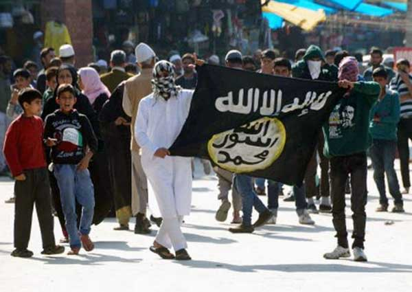 """Photo of ISIS claims """"Province"""" in India for first time"""