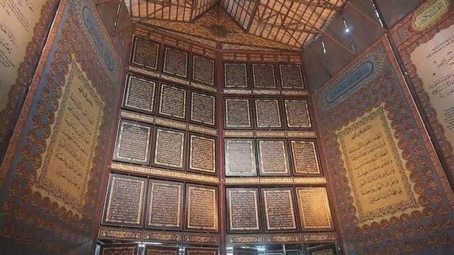Photo of World's largest wooden Quran inspires awe in Indonesia