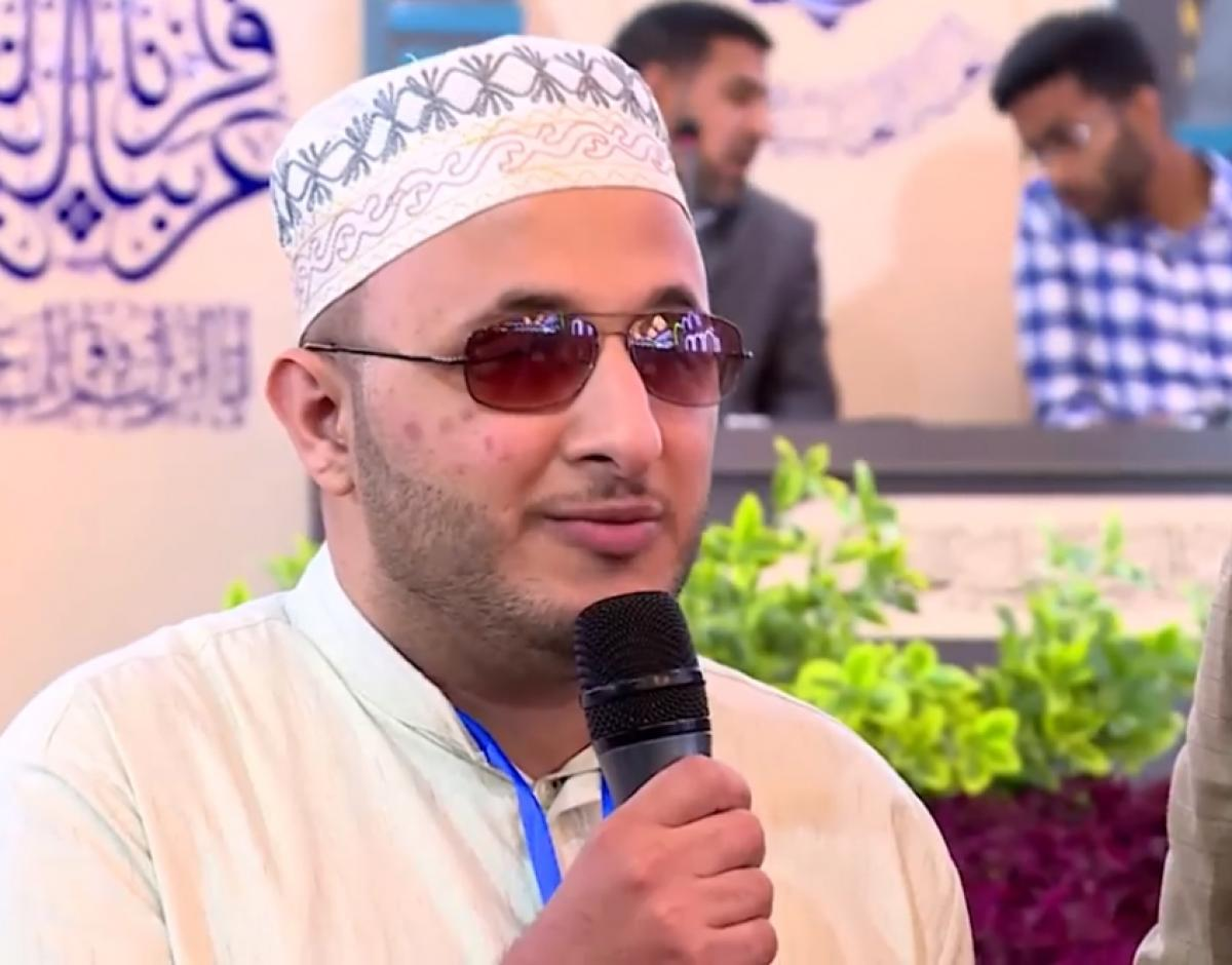 Photo of Blind readers participate in the national Quranic team competition