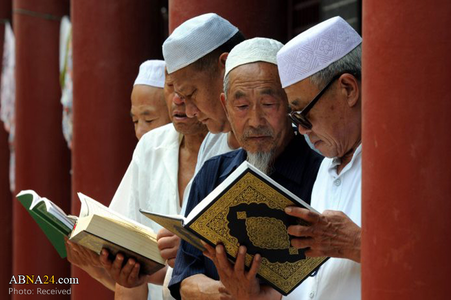 Photo of Quran reading session held in China