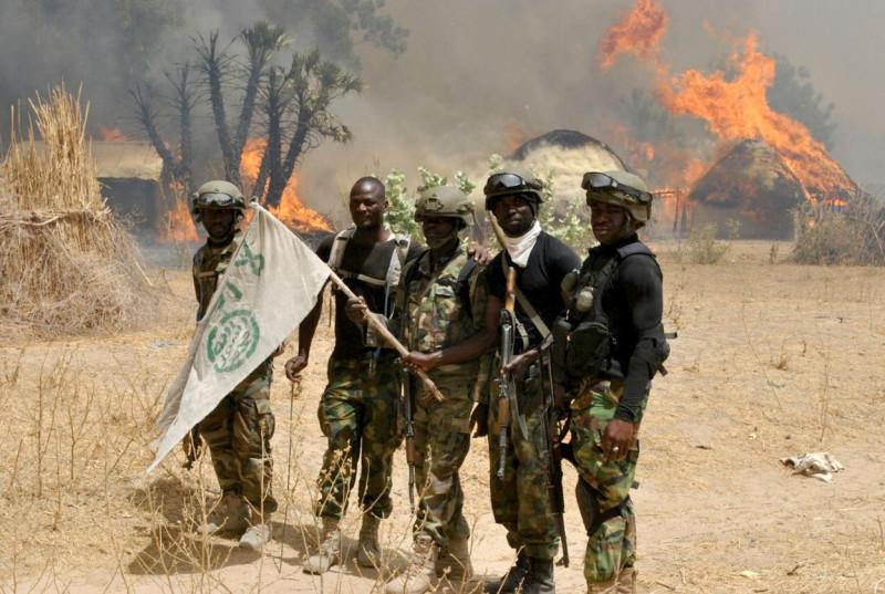 Photo of Boko Haram gunmen kill two in Nigerian refugee camp attack, then flee