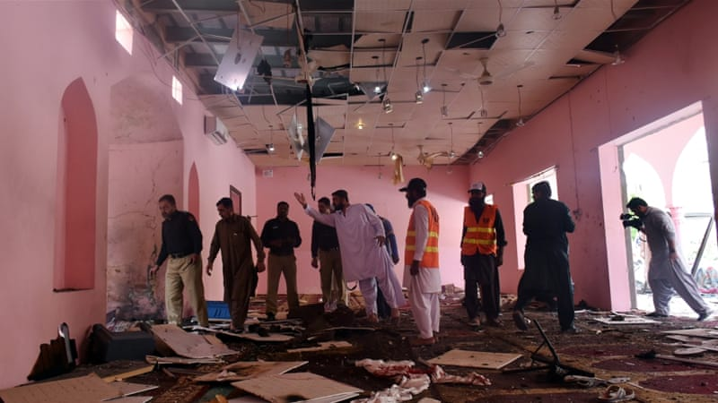 Photo of Explosion targets mosque in Pakistan's Quetta