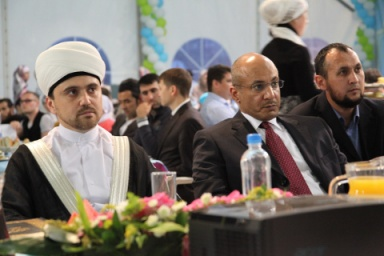 Photo of Quran competition at Ramadan Tent in Moscow