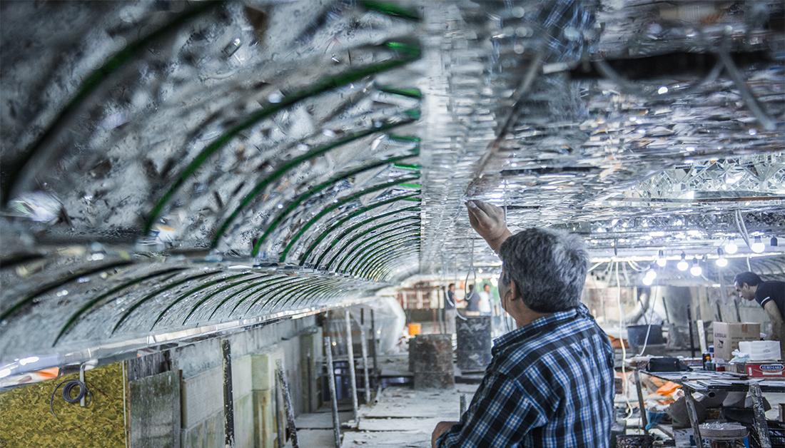 Photo of Few days to open Elhujjeh basement inside Imam Hussain Holy Shrine