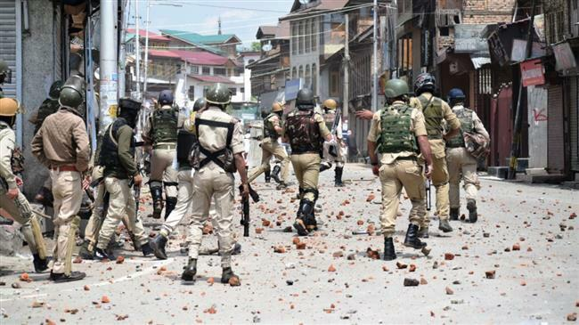 Photo of Indian forces attacked Eid al-Fitr prayers in Kashmir