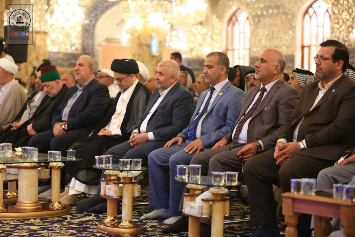 Photo of The Ninth al-Safeer International Cultural Festival at Grand Mosque of Kufa