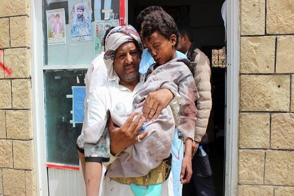Photo of Kids killed in Saudi-backed mercenaries' attack in Yemen