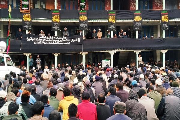 Photo of Sit-in held in New Delhi to call for rebuilding al-Baqi Shrines
