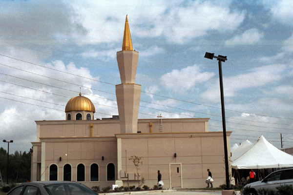 Photo of Houston mosque threatened for second time