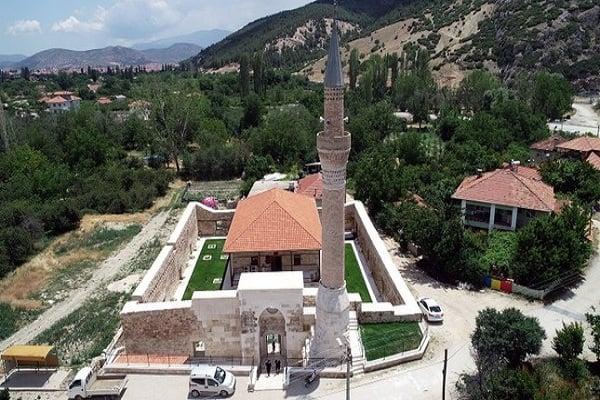 Photo of 700-year-old mosque restored in Turkey's Antalya