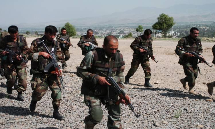Photo of Afghan army arrests 10 Taliban members in Kabul