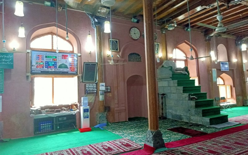 Photo of 624-year-old Mosque of Aali Masjid restored by Indian government