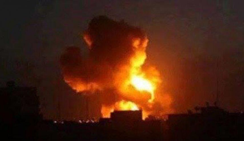 Photo of Saudi bombing targets residential districts in Saada