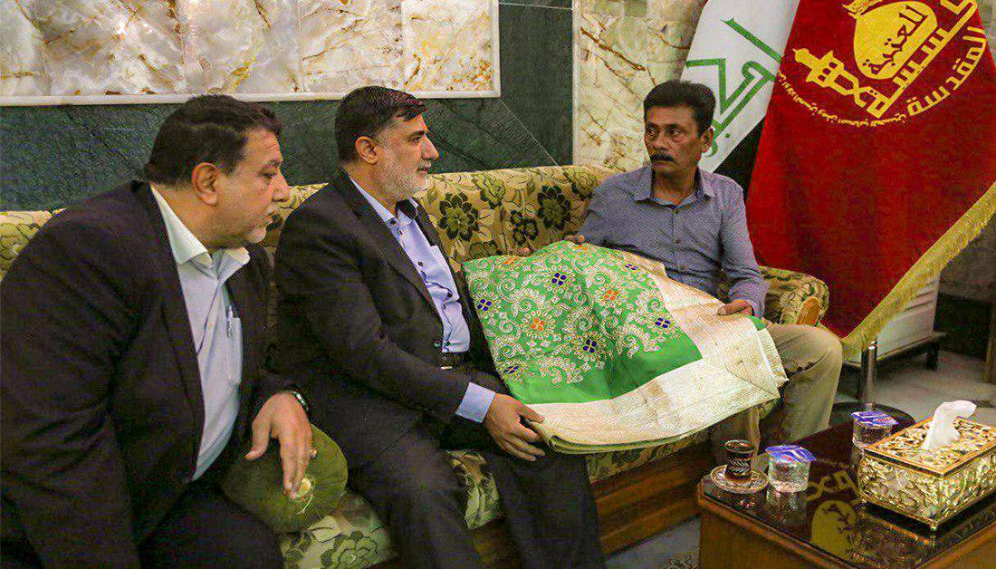 Photo of Delegation from Indian Ministry of Defense Visits Imam Hussain Holy Shrine