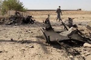Photo of Roadside Bomb in Afghanistan Kills 34
