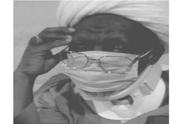 Photo of New update of Sheikh Zakzaky's health condition