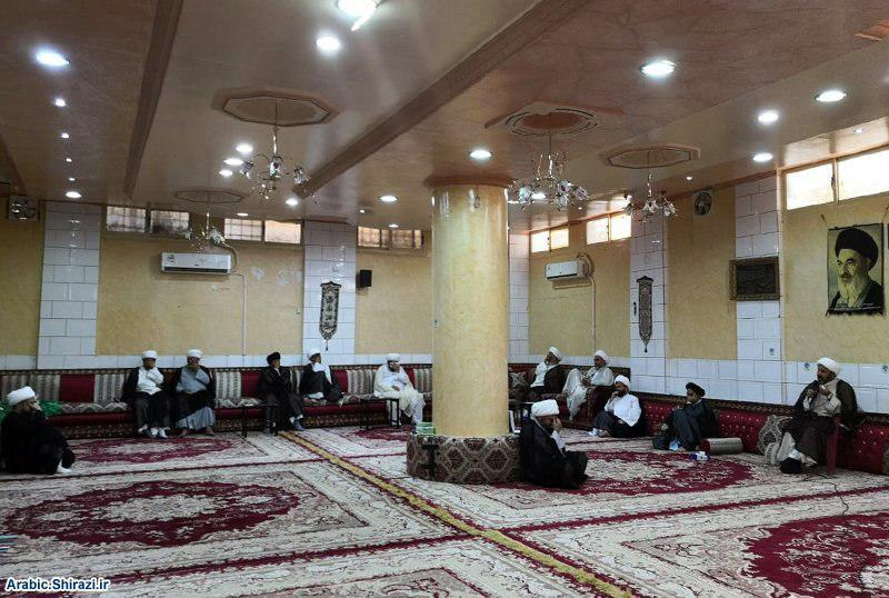 Photo of Hajj Mission of Grand Ayatollah Shirazi in Medina holds mourning ceremonies for Imam Hussein