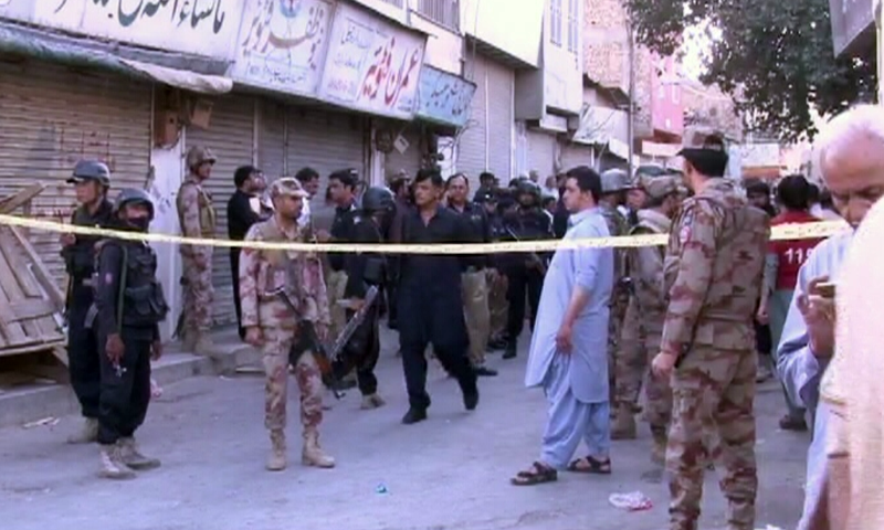 Photo of One killed, 10 injured in blast on Quetta's Mission Road