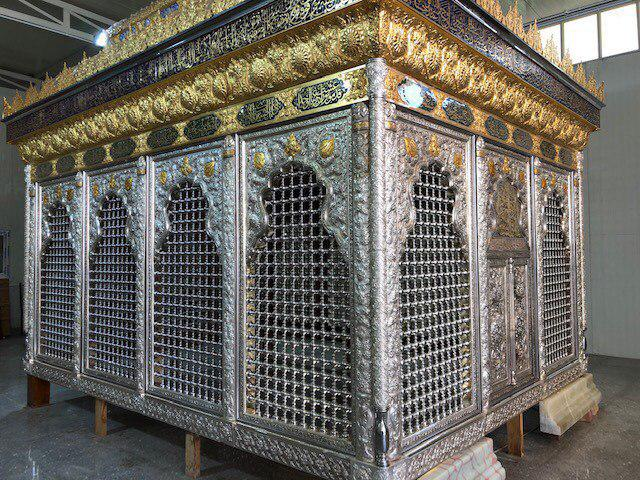 Photo of New holy grille of al-Qasim ibn Imam al-Kadhim unveiled in Babylon
