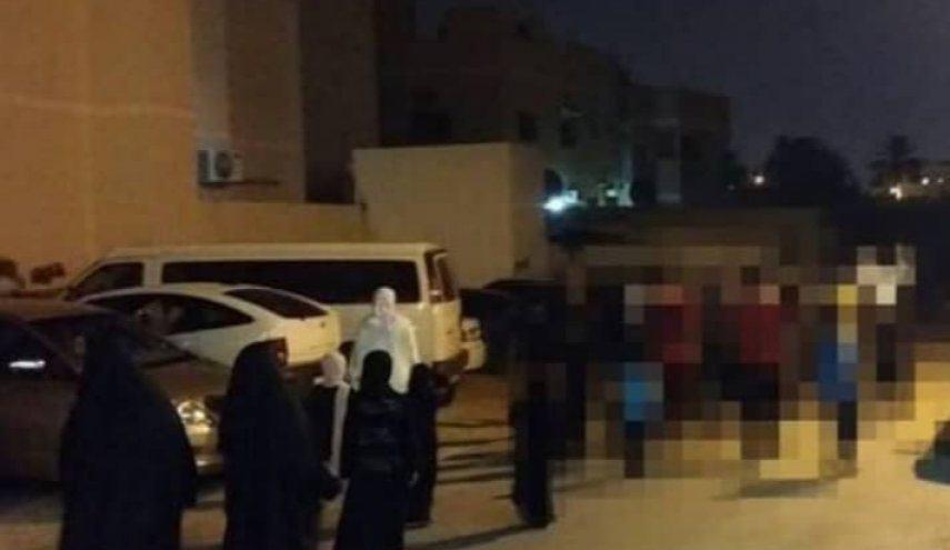 Photo of Bahrain: Residents of Abu Saiba and Al-Shakhoura protest against their house raids