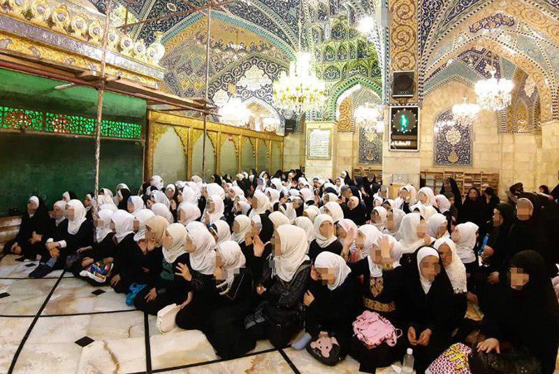 Photo of More than 180 girls participate in Sayeda Ruqayya Summer Quranic Course in Damascus